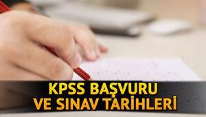 KPSS lisans, ön lisans, ortaöğretim ne zaman yapılacak 2020 KPSS başvuru tarihi
