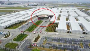 Ve tabelası asıldı İşte Atatürk Havalimanı'na yapılan hastanenin son fotoğrafları…