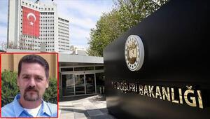 Dışişleri: Terörist Sasunyanın şartlı tahliye talebinin reddedilmesi memnuniyetle karşılandı