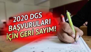 DGS ne zaman yapılacak DGS 2020 başvuru tarihi ne zaman