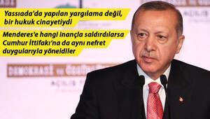 Son dakika haberler: Demokrasi ve Özgürlükler Adasında tarihi açılış Cumhurbaşkanı Erdoğan'dan flaş açıklamalar