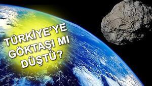 Meteor düştü iddiası gerçek mi