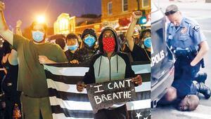 Polis şiddeti ve ırkçılık ABD'yi ayağa kaldırdı... Nefes alamıyorum