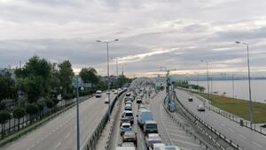 Avrasya Tüneli Avrupa - Anadolu geçişi 1 saat trafiğe kapatıldı