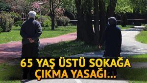 65 yaş üstü sokağa çıkma yasağı bitti mi 65 yaş üstü sokağa çıkma yasağı ne zaman kaldırılacak Erdoğan açıkladı