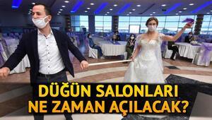 2020 Düğün salonları ne zaman açılacak Düğünler ne zaman başlayacak