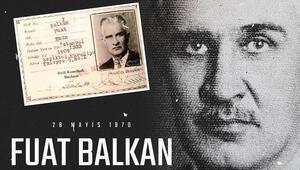 Beşiktaş kurucularından Fuat Balkanı andı