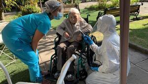 Şilide 111 yaşında bir kadın koronavirüsü yendi