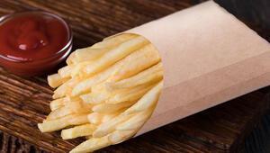 Evde fast food çıtırlığında patatesler kızartabilmek için ihtiyacınız olan tek tarif