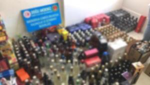 İskenderunda 668 litre sahte içki ele geçirildi
