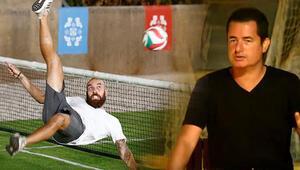 Survivorda Sercan Yıldırım ayak tenisinde şov yaptı, Acun Medya ekibi yenildi