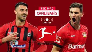 Bundesligada 29. maç haftasını açıyoruz Leverkusene verilen iddaa oranı...