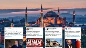 Son dakika haberi... Ayasofya'da Fetih Suresi okunacağını duyan Yunanlılar çıldırdı