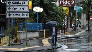 Ankarada sağanak etkili oldu