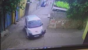2 yaşındaki Mustafanın öldüğü kaza kamerada