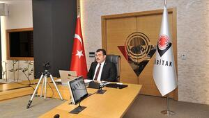 TÜBİTAK başkanı, Kovid-19a karşı uluslararası iş birliği toplantısına katıldı