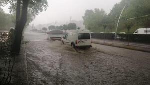 Zonguldakta şiddetli yağmur