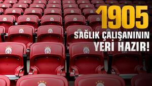 Galatasaraydan 1905 sağlık çalışanına jest