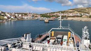 Bozcaadaya feribot seferleri, 3 güne çıkarıldı