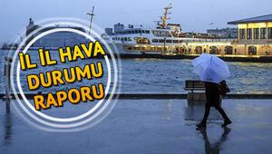 Hafta sonu hava nasıl olacak 30 Mayıs Türkiye geneli hava durumu