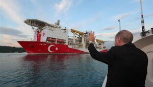 Cumhurbaşkanı Erdoğan, Fatih sondaj gemisini Karadenize uğurladı