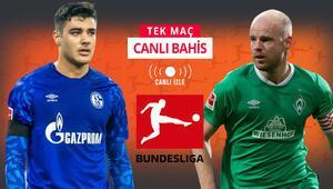 Schalke kötü gidişe Bremen karşısında dur diyebilecek mi iddaada galibiyetlerine...