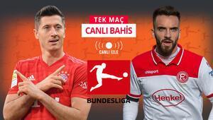 Bayernin galibiyetine iddaada oran açılmadı Düsseldorfun son 6 lig maçı...