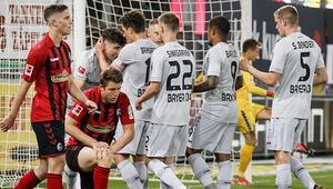 Leverkusen tek attı 3 aldı