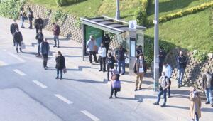 Bu sabah İstanbul... 2 saattir yolda bekliyoruz