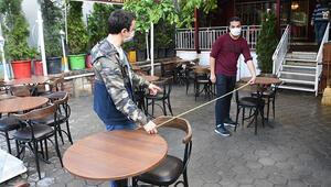 Eskişehirde kafe ve restoranlar, normalleşme sürecine hazır