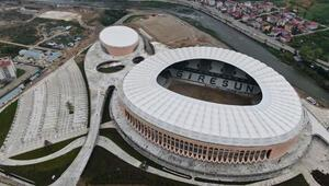 Giresun Çotanak Spor Kompleksinde sona gelindi Muhteşem...