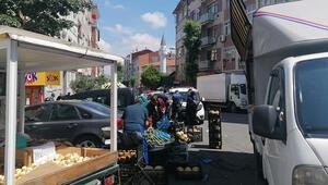 Fatihte yasağı delip pazar kurdular, 10 bin 716 lira ceza yediler