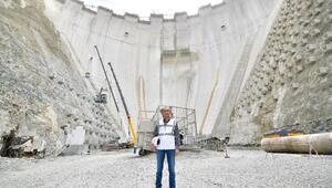 Türkiyenin en yüksek barajı bütçeye yıllık 1,5 milyar TL katkı sağlayacak