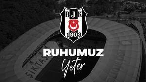 Beşiktaş karton taraftar projesi başlattı Ruhumuz yeter...