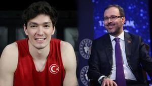 Gençlik ve Spor Bakanı Mehmet Muharrem Kasapoğlu, Cedi Osmana konuştu: En başarılı olimpiyat oyunlarına adayız