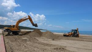Kocaelinin mavi bayraklı plajları, sezona hazırlanıyor