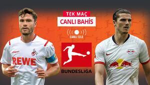 Bundesliganın deplasman fatihi RB Leipzig Köln deplasmanında iddaada galibiyetlerine...