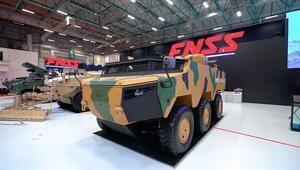 6x6 ve 8x8 zırhlı kara araçları toprağa iniyor