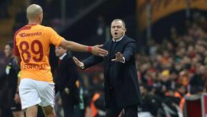 Son dakika transfer haberleri | Fatih Terimden Feghouli kararı: 10 milyon Eurodan aşağısına gidemez