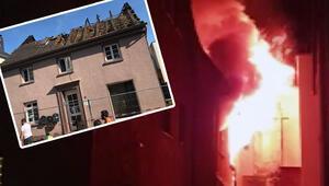 Almanya'daki yangın Tükleri yasa boğdu