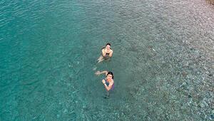 Antalyada yasak kalktı, sahiller doldu
