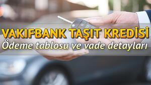 Vakıfbank taşıt kredisi faiz oranları.. Vakıfbank otomobil, motosiklet taşıt kredisi ödeme tablosu