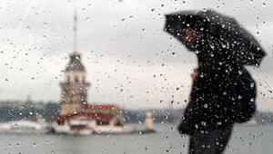 Son dakika... Meteoroloji uyardı: İstanbulda saat 16:00ya kadar dikkat