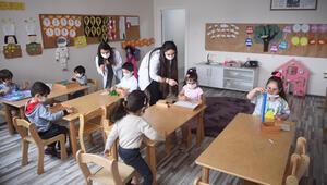 Özel okulöncesi eğitim kurumları kurallarla açıldı