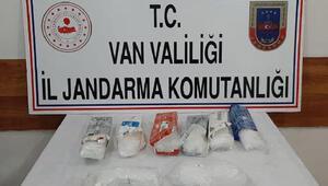 Vanda arazide 5 kilo uyuşturucu ele geçirildi