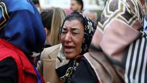 Kavgayı ayırırken şehit olan polis memurunun cenazesi baba ocağında