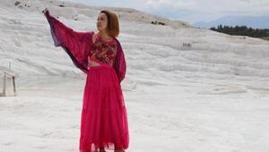 Pamukkale 74 gün sonra ziyarete açıldı