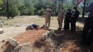 Albay Öksüzden şehit ailesine: Müjde, şehidimizin kanı yerde kalmadı