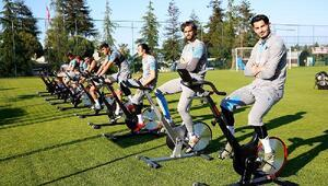 Trabzonsporda futbolcular performans testinden geçti