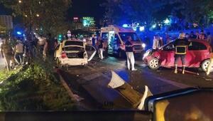 Şanlıurfada zincirleme kaza: 5 yaralı